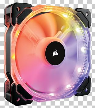 Computer Cases & Housings Corsair Components Computer Fan RGB Color Model Computer Hardware PNG