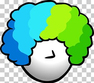 Women Clown Wig PNG