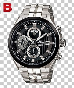 Casio Edifice Watch Clock Chronograph PNG