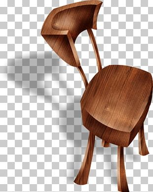 Table Chair Furniture Wood Stool PNG