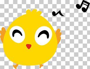 Chicken Cartoon Singing PNG