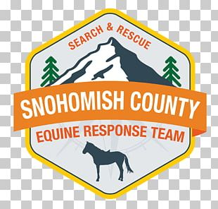 Snohomish County Volunteer Search And Rescue Horse Equestrian Logo PNG