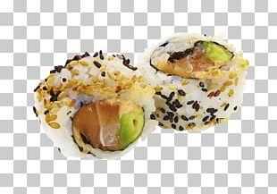 California Roll Sushi Avocado Sake Rice PNG