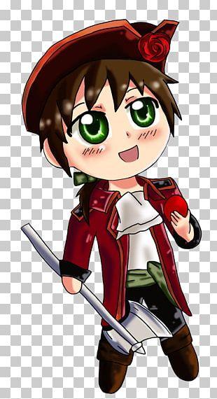 Chibi Mangaka Drawing Piracy Anime PNG