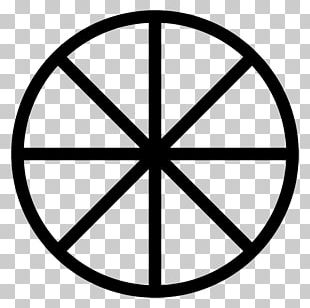 Wheel Of The Year Sun Cross Wicca Modern Paganism PNG
