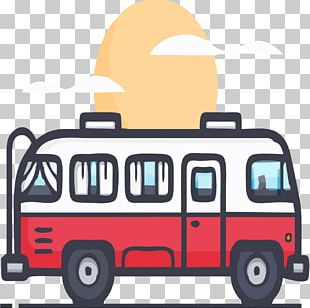 Red Bus PNG