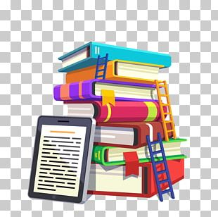School Library Drawing PNG