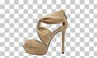 High-heeled Footwear Dress Shoe Sandal PNG