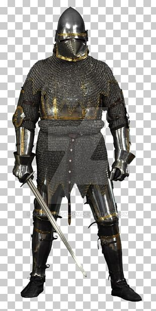 Middle Ages Knight Cuirass Components Of Medieval Armour Plate Armour PNG