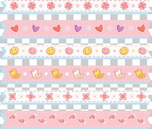 Paper Pink Pattern PNG
