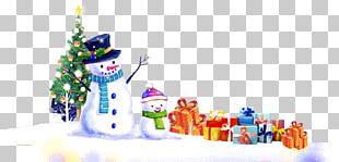 Snowman Christmas Ornament Graphic Design Winter PNG