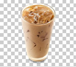 Iced Coffee Frappé Coffee Latte Coffee Milk PNG