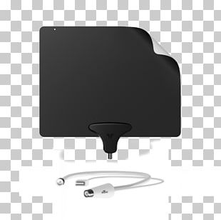 Mohu Leaf 50 Aerials Television Antenna Mohu Curve 50 Indoor Antenna PNG