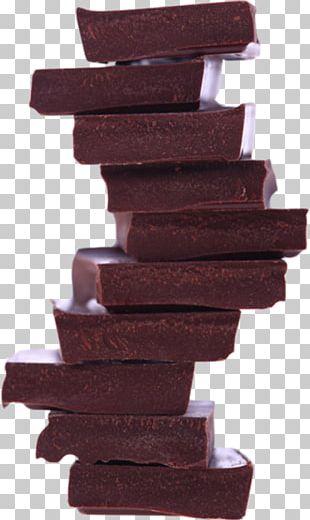 Fudge Chocolate Bar Gummi Candy PNG