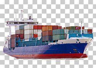 Cargo Ship Container Ship PNG
