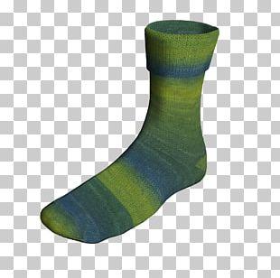 Wool Yarn Sock PNG