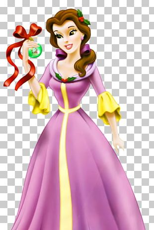 Belle Princess Aurora Beauty And The Beast: The Enchanted Christmas Tiana PNG