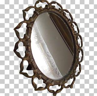 Mirror Paper Vanity Frames Oval PNG