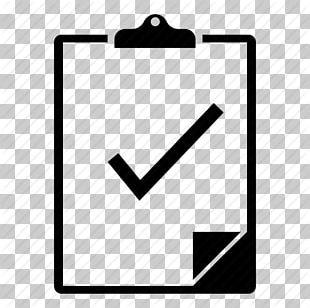 Clipboard Check Mark Checklist PNG