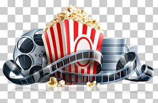 Popcorn Cinema Film Reel PNG