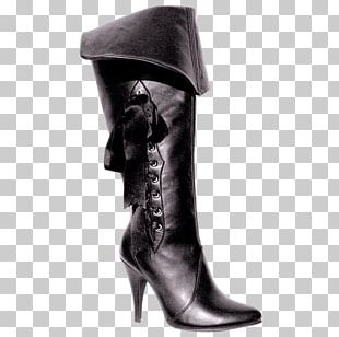 Knee-high Boot Shoe Size Costume PNG