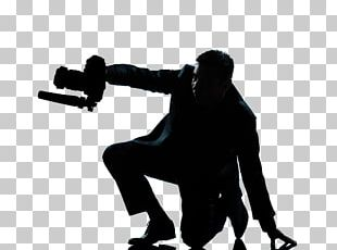 James Bond Silhouette Stock Photography Videographer PNG
