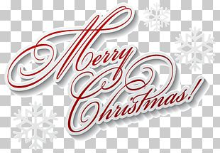 Christmas Font Lettering PNG