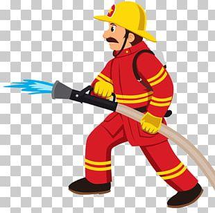Firefighter Fire Department Fire Engine PNG