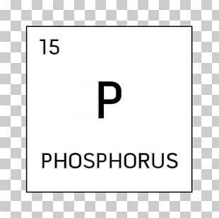Periodic Table Phosphorus Chemical Element Group Symbol PNG