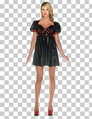 Cocktail Dress A-line Lace Ruffle PNG