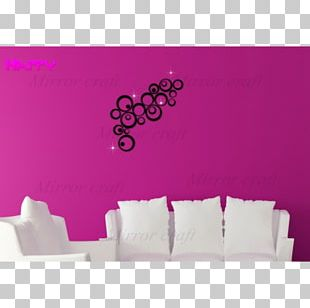 Wall Decal Sticker Decorative Arts Mirror PNG
