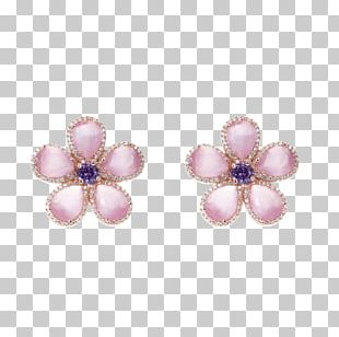 Earring Amethyst Jewellery Necklace Bracelet PNG
