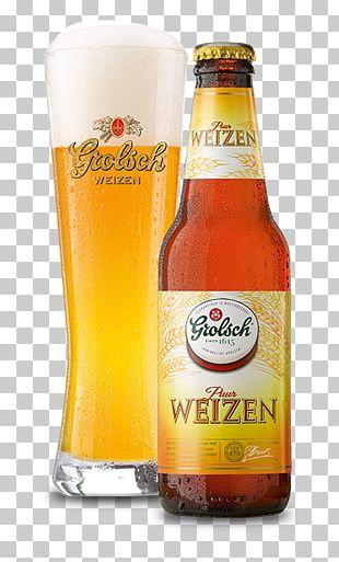 Wheat Beer Grolsch Brewery Weissbier Lager PNG