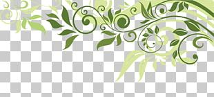 Flower Banner Spring Illustration PNG