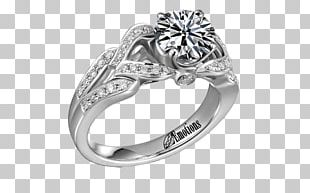 Diamond Wedding Ring Solitaire Engagement Ring PNG