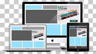 Responsive Web Design Web Development Digital Marketing Web Banner PNG