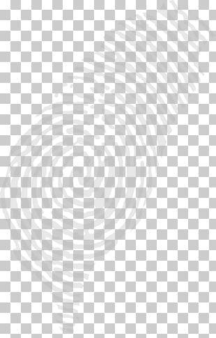 Spiral White Circle Pattern PNG