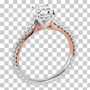 Engagement Ring Gold Wedding Ring Diamond PNG