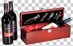 Box Wine Champagne Bottle PNG