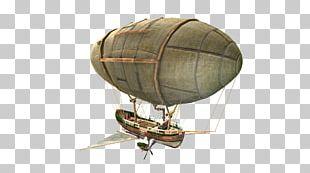 Rigid Airship Hot Air Balloon Aircraft PNG