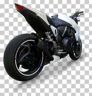 Honda CB1000R Exhaust System Car Tire PNG