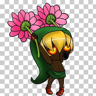 Cartoon Flowering Plant Tree PNG