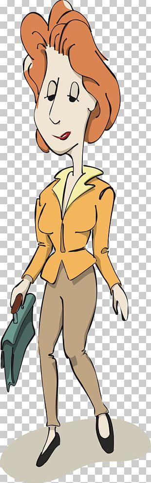 Cartoon Woman Female PNG