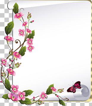 Frames Floral Design PNG