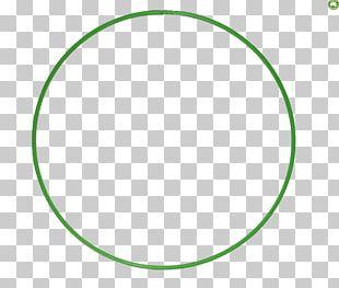 Circle Point Angle Green Font PNG