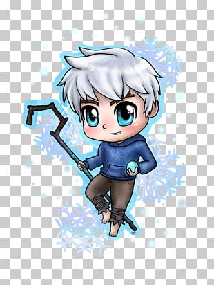 Jack Frost Chibi Drawing Cartoon PNG