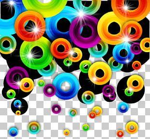 Graphic Design Circle Pattern PNG