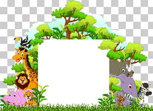 Cartoon Funny Animal Illustration PNG