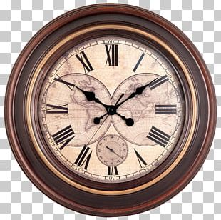 Clock Wall Window Antique PNG