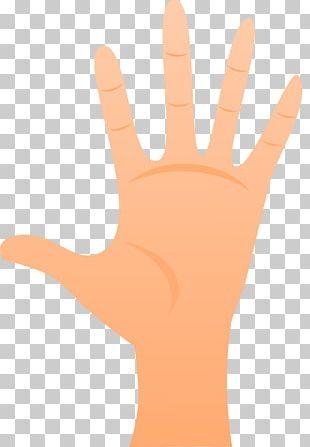 Thumb Hand Model Glove Line PNG